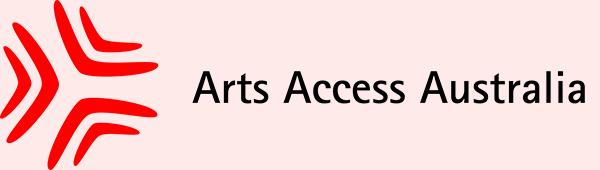 Arts Access Australia logo
