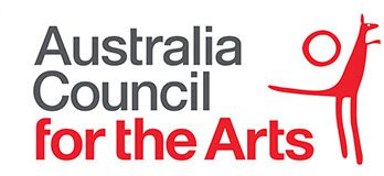 Australian Government logo and Australia Council for the Arts Logo